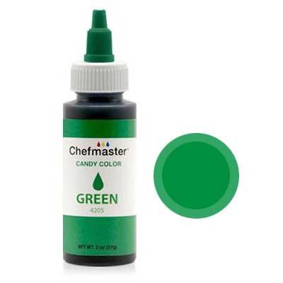 Фарба-гель харчова Chefmaster Candy Color (зелена) 57г