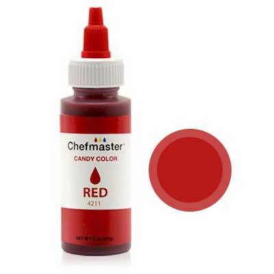Фарба-гель харчова Chefmaster Candy Color (червона) 57г