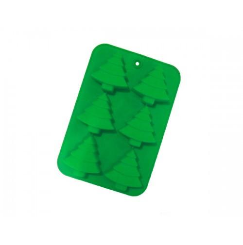 Форма силіконова Ялинки на планшеті 6 шт