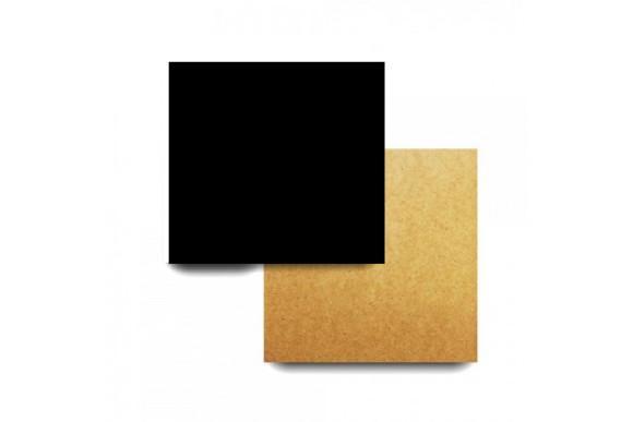Підложка під торт квадратна Чорна 400*400мм