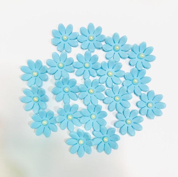 Маргаритка Преміум моно блакитна 20 шт