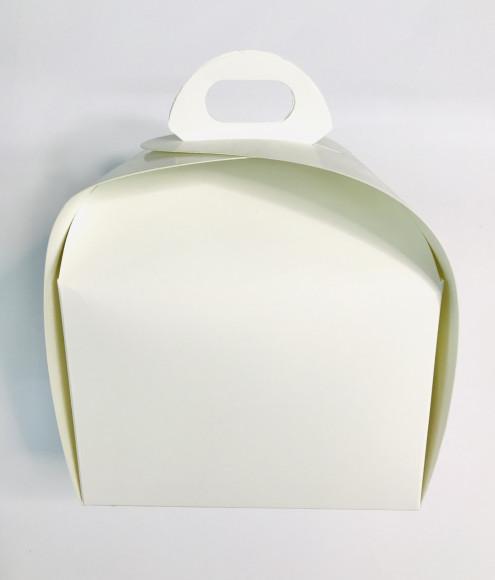 Коробка для тістечка 110*110*80  (Біла)
