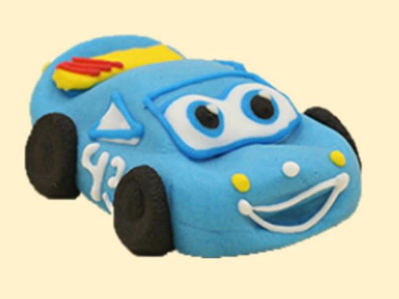 Машинка середня синя