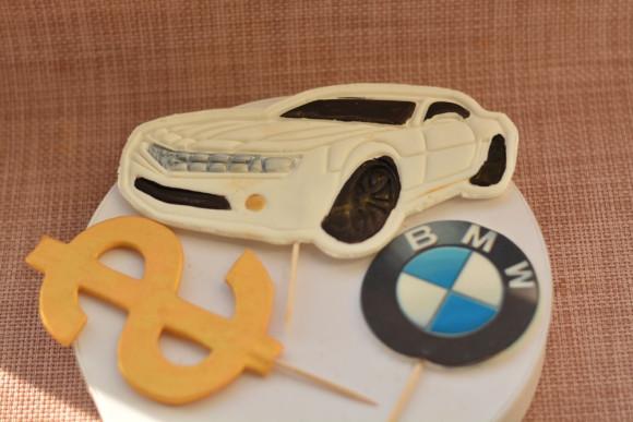 Бізнес набір 2D білий (значок марки машин може не співпадати с фото)