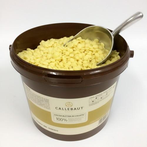 Масло какао натуральне Barry Callebaut Швейцарія 50гр.