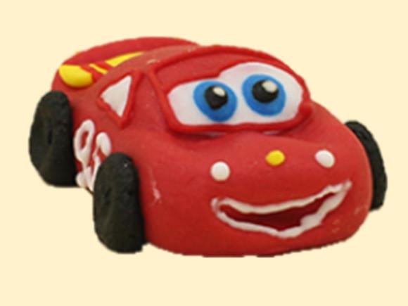 Машинка середня червона