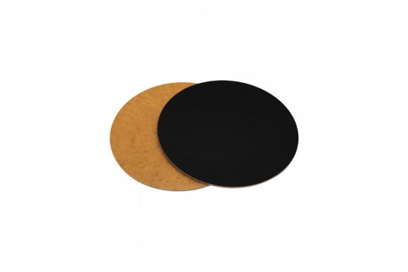 Підложка під торт кругла Чорна 230мм