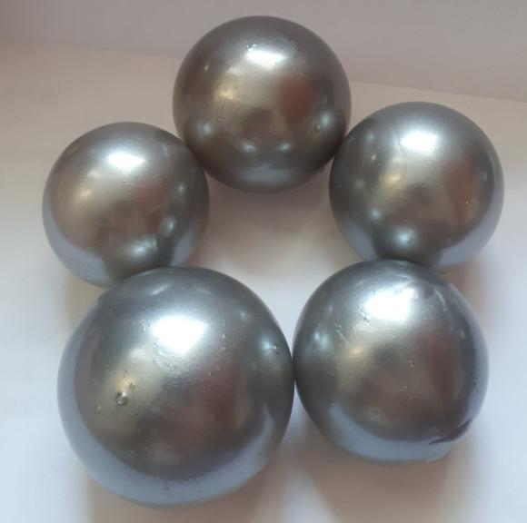 Желейні кульки срібні