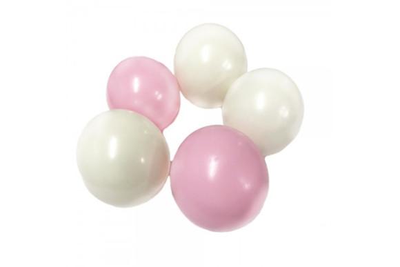 Желейні кульки білі/рожеві