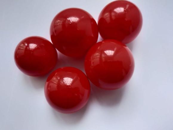 Желейні кульки червоні