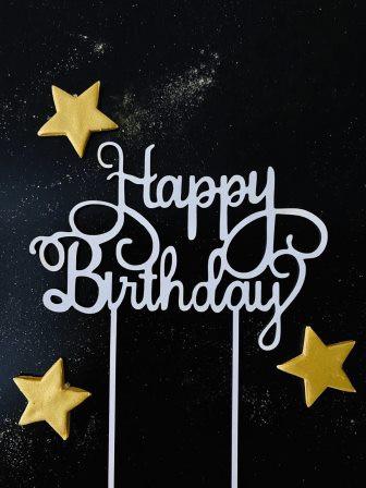 Топпер Happy Birthday №4