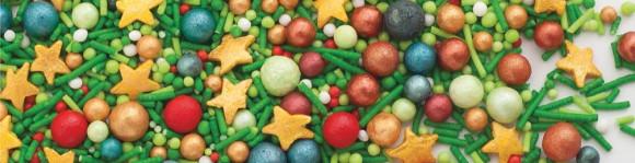 Перламутровий мікс з кульками, суміш №12