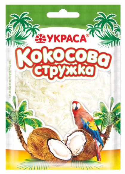Кокосова стружка Украса 100г Біла