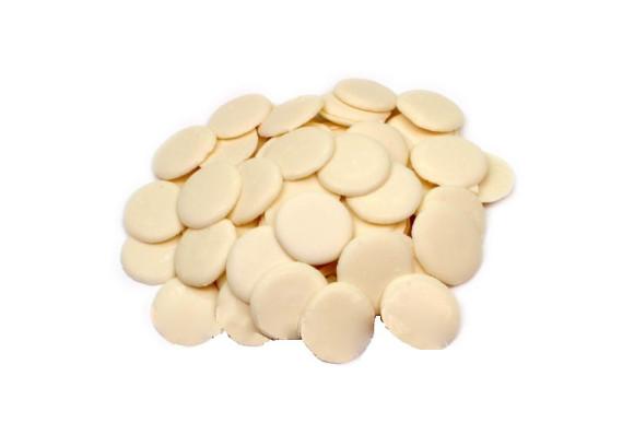 Глазур Карібе диски білі  200гр. Італія