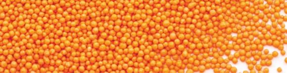"Посипка кругла ""Нонпарель"", оранж"