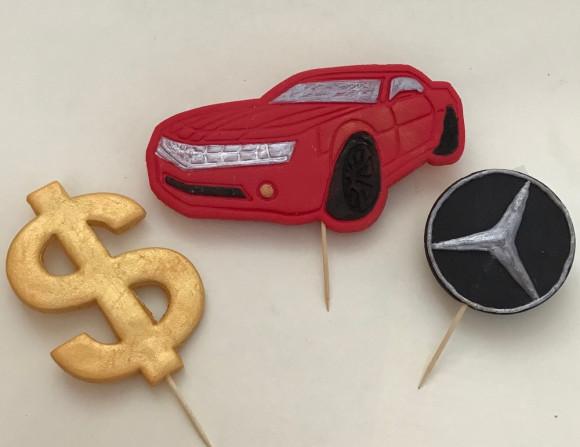 Бізнес набір 2D червоний (значок марки машин може не співпадати с фото)