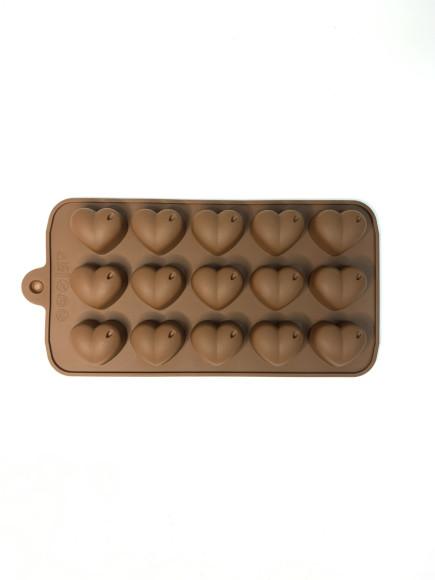 Форма силіконова Сердечки №2 19,5/10,5 см.