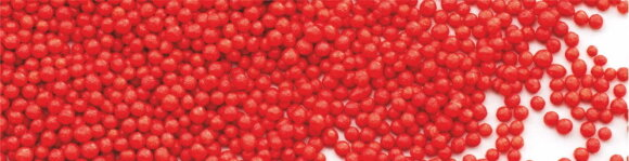 """Посипка кругла """"Нонпарель"""", червона"""